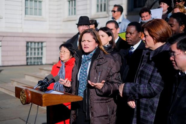 Council Member Mark Viverito and Advocates Announce Legislation to Protect Immigrants3--Credit to William Alatriste New York City Council