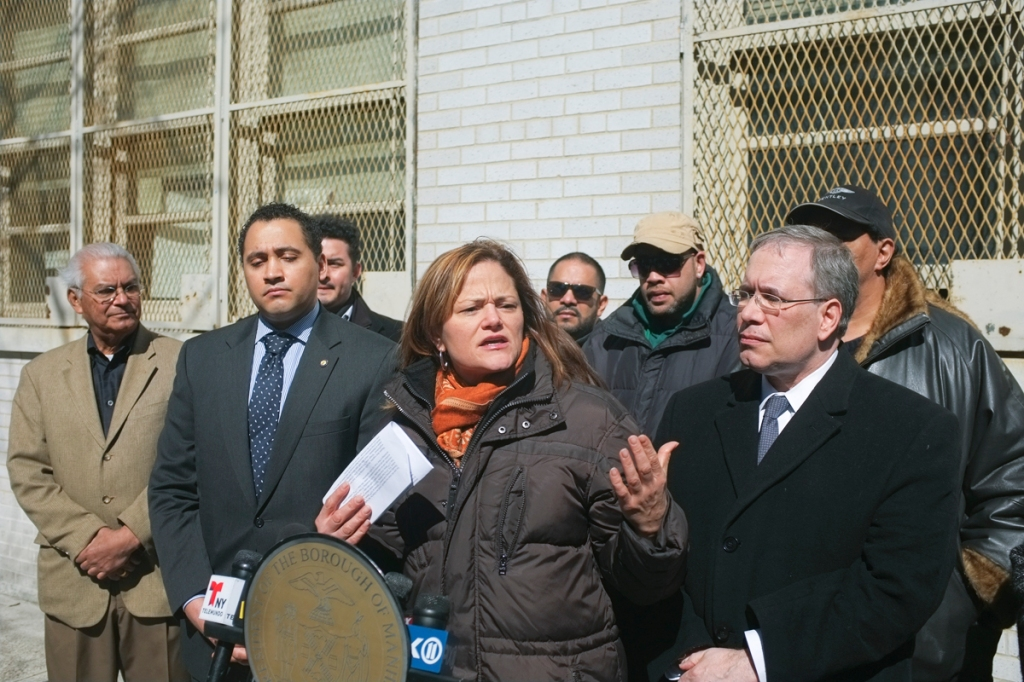Council Member Viverito During the Press Conference on Six Year Old's Death at an East Harlem Intersection 2-Credit to William Alatriste New York City Council