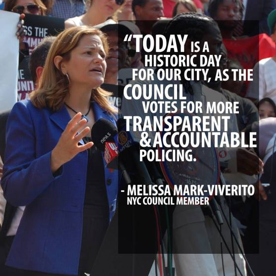 Melissa Mark-Viverito Community Safety Act