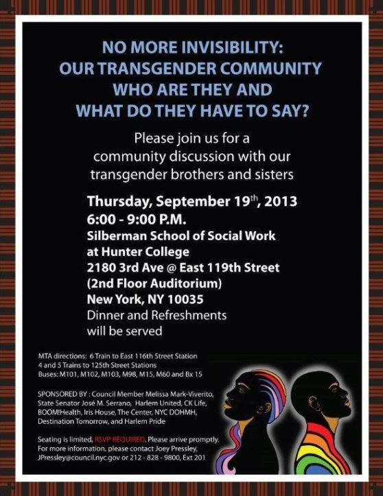 Gender Forum Flyer